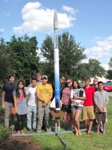 SF Engineering Club's rocket team