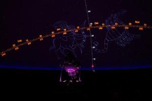 The Kika Silva Pla Planetarium's Goto Chronos Space Simulator