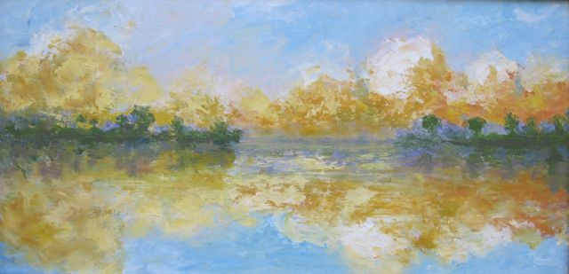 Julie Warmke-Robitaille - Lake Couds II