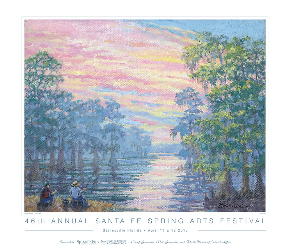 Spring Arts Festival Poster Artist Kate Barnes  Today At