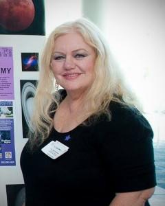 Dr. Sally Hoffman, professor of Astronomy