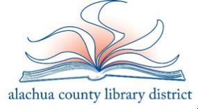 Alachu COunty Libraty logo