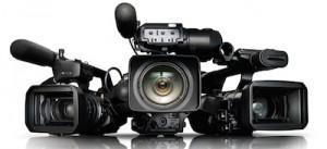 3 Professional Digital Video Cameras