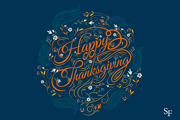 Happy Thanksgiving from Santa Fe College