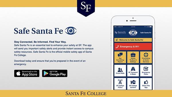 Safe Santa Fe app