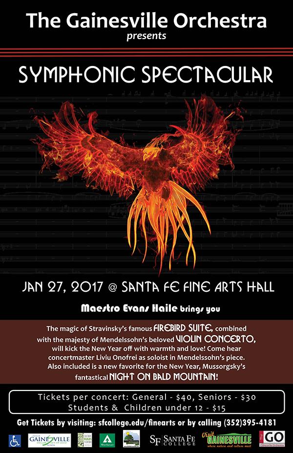 Symphonic Spectacular Firebird Poster