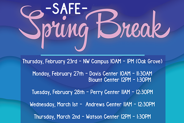 Safe Spring Break 2017