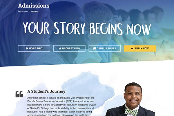 admissions site