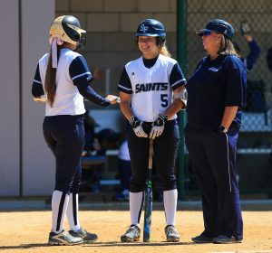 Scenes from the Santa Fe Saints versus Tallahassee Community College on Saturday, March 4, 2017 in Gainesville, Fla. (Photo by Matt Stamey/Santa Fe College) **Subjects have Releases***