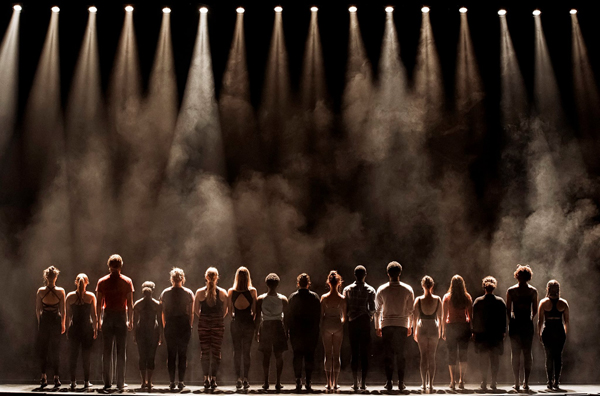 """A Chorus Line"" photo by Suzanna Mars"