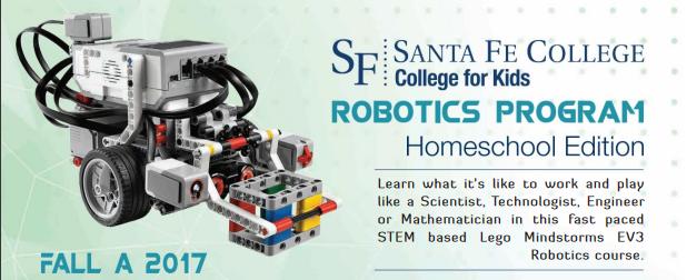 Register your student for SF's College For Kids Robotics Program