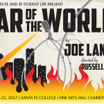 War of the Worlds at the SF Fine Arts Hall October 19-21, 2017