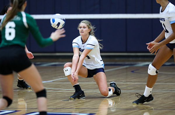 SF Saints Volleyball wins two road games, last Friday and Saturday