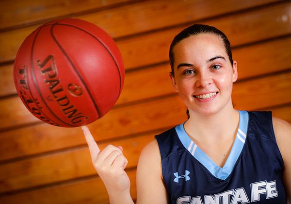 Julie Fournier Santa Fe Saints women's basketball