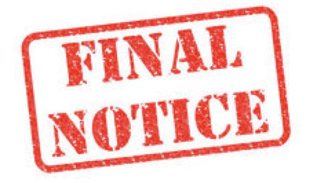 Final Notice on Open Enrollment