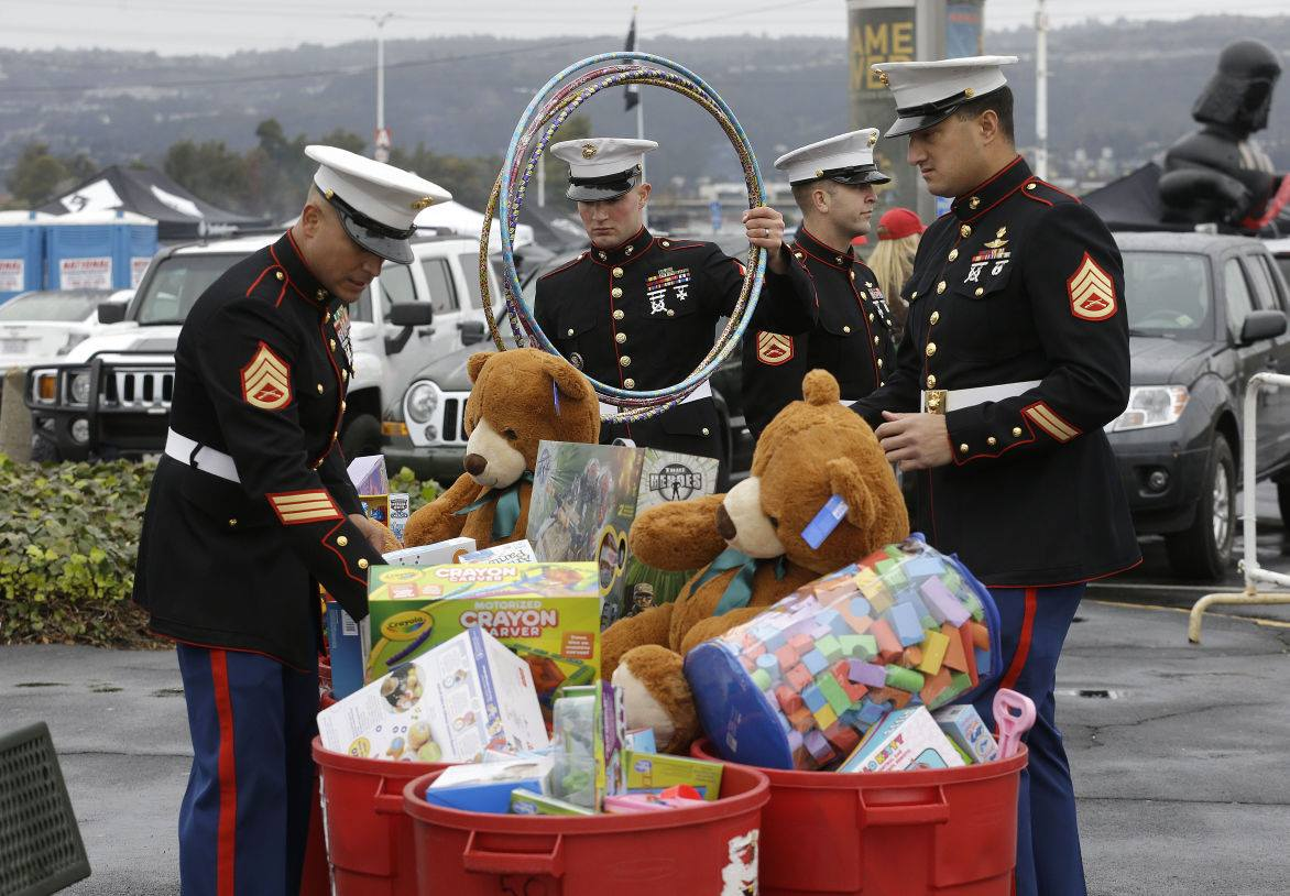 Toys For Tots Holiday Drive Today Santa Fe