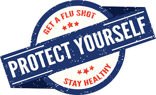 Flu Shot Stamp