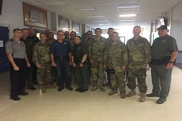 National Guard comes to SF during Hurricane Irma