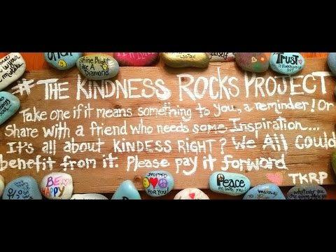 Kindness Rocks Project at SF Bookstore September 21, 2107 from 10 a.m. until 2 p.m.