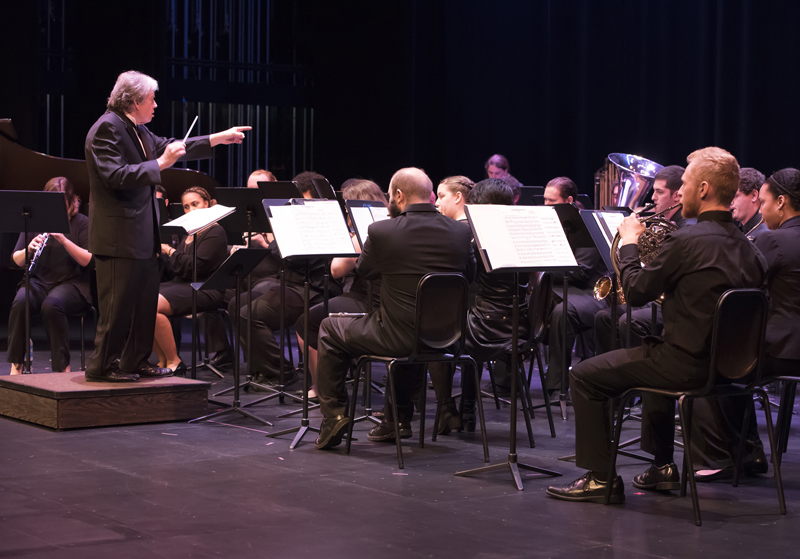 Winds and Classics concert at SF Fine Arts Hall September 28, 2017