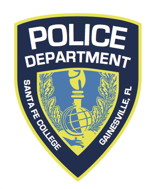 Santa Fe College Police Department badge logo