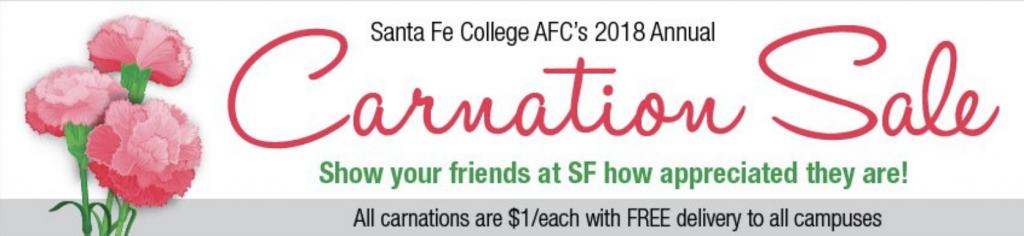 2018 Santa Fe College AFC Carnation Sale