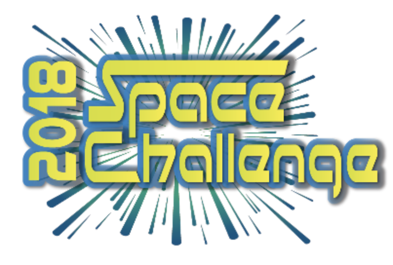 2018 College for Kids Space Challenge logo.