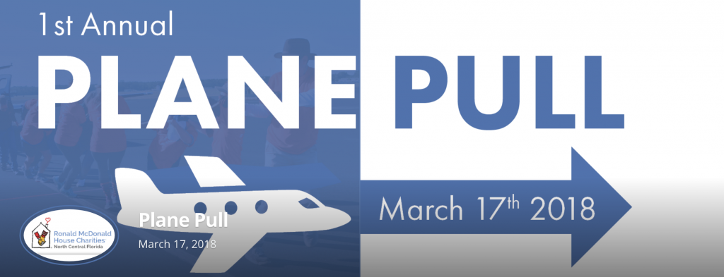 First Annual Plane Pull - March 17 at University Air Center