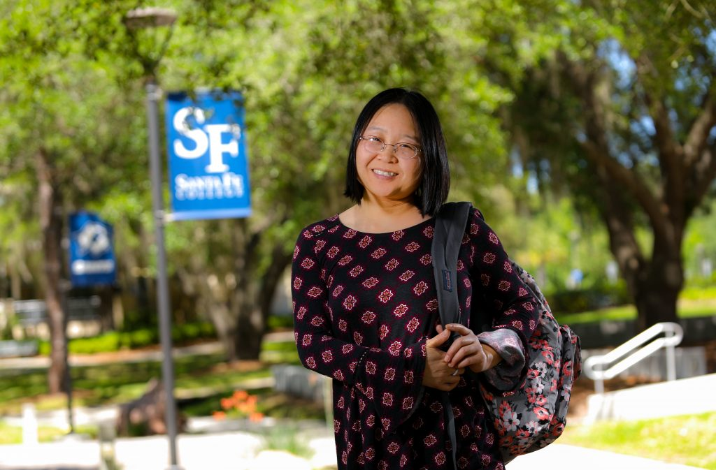 Haiyan Fu will be graduating from Santa Fe College with an A.A. in nursing.