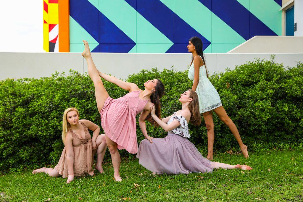 Dance Theatre of Santa Fe College Room to Dance promo shoot.