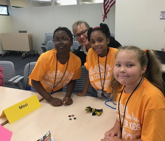 """Students enjoying their time during the """"Jambo! Out of Africa"""" camp at Santa Fe College."""