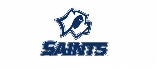 Caesar Saint logo for SF athletics