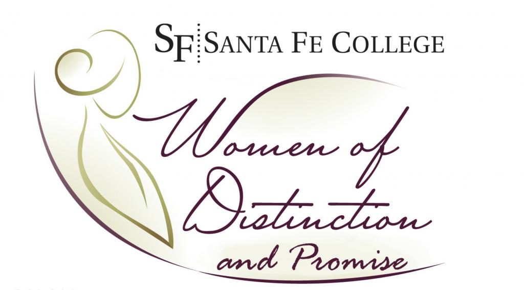 Women of Distinction design logo