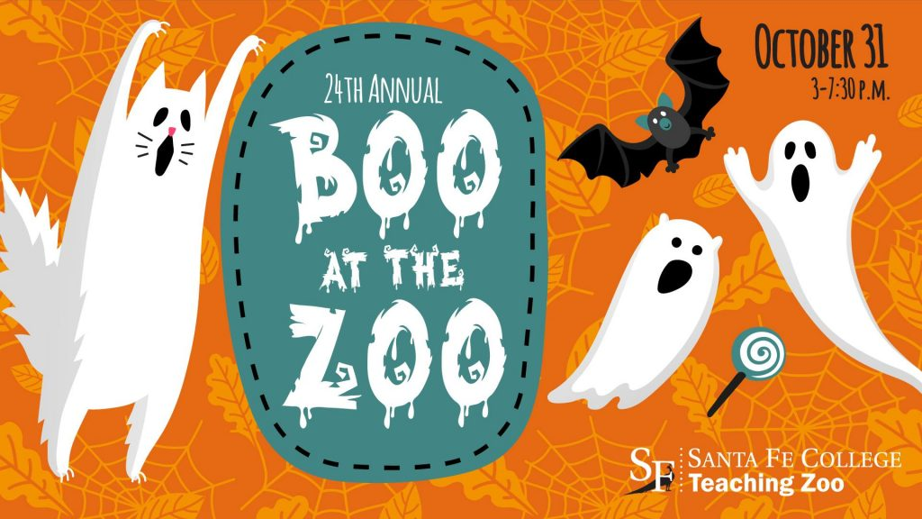 Santa Fe College Teaching Zoo Boo at the Zoo design for 2018