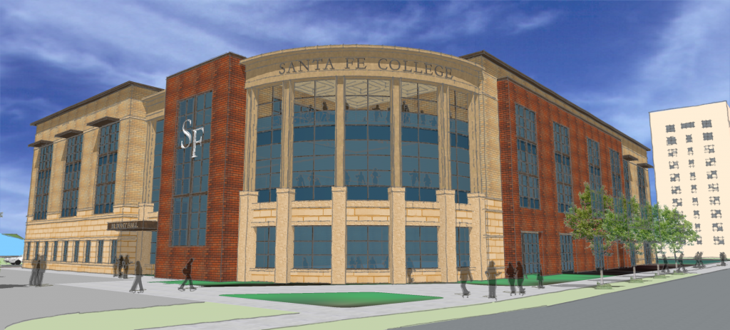 A rendering of what the expanded Blount Campus will look like upon completion.