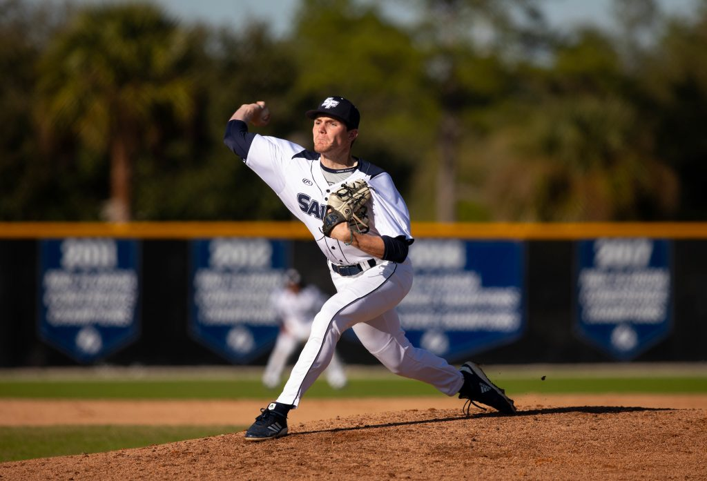 Santa Fe College Saints pitcher Michael Paul