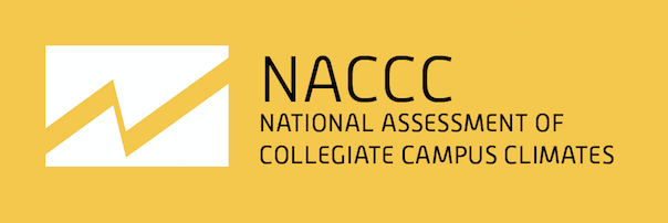 National Assessment of Collegiate Campus Climates (NACCC) logo