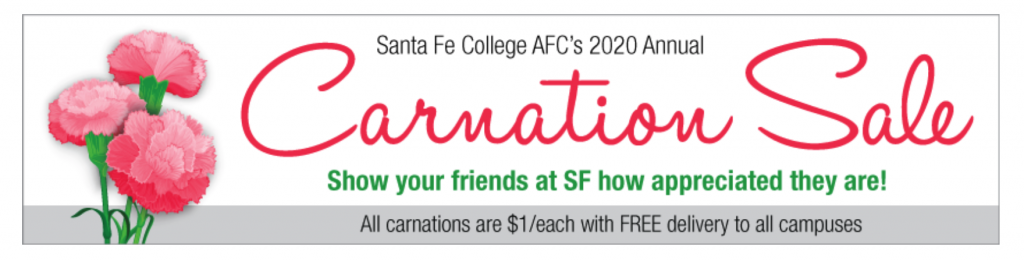 SF's AFC Carnation Sale - now through Feb. 11, 2020